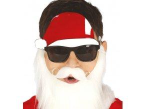 Okuliare s vianočnou čiapkou