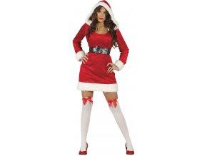 Dámsky kostým - Slečna Clausová