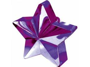 Závažie na balóny Hviezda fialová
