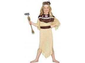 Kostým Indiánka Cherokee (Veľkosti 10-12 rokov (výška 142-148cm))