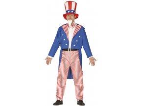 Pánsky kostým - Uncle Sam