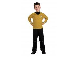 Detský kostým Kapitán Kirk