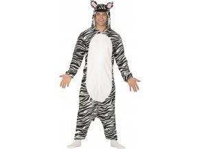 Pánsky kostým Zebra