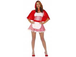 Dámsky kostým Červená čiapočka