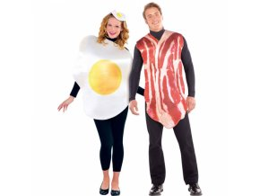 Kostýmy pre pár - Raňajky
