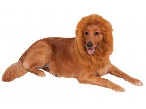 Kostým pre psov - Deluxe Hriva Leva