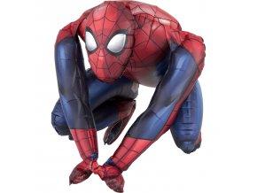 Fóliový balón sediaci Spiderman 38 x 38 cm
