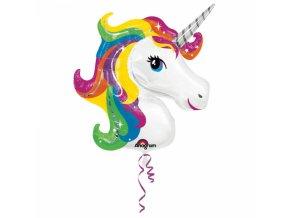 Fóliový balón unicorn 83 x 73 cm