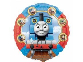 Fóliový balón lokomotiva Tomáš 45 cm