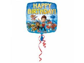 Fóliový balón Tlapková hliadka 43 cm