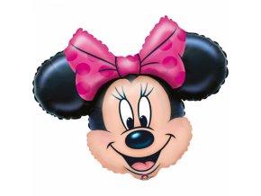 Fóliový balón Minnie Mouse tvár