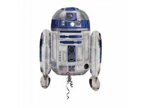 Fóliový balón R2D2 Star Wars 55 x 66 cm