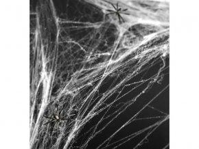 Pavučina Halloween Biela