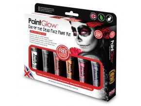 GS020 Day of the Dead Face Paint Kit grande
