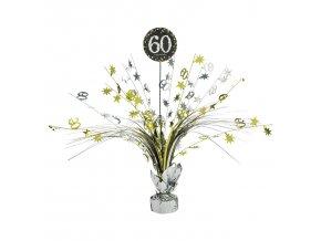 Dekorácia na oslavu - trblietavé 60. narodeniny