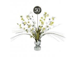 Dekorácia na oslavu - trblietavé 50. narodeniny