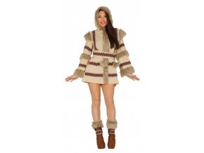 Eskimácka žena- kostým (Veľkosti L)