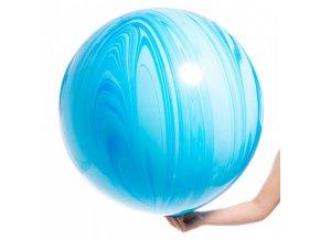 velky modry agate balon