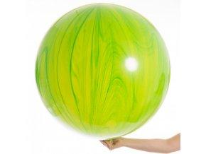 velky zeleny agate balon