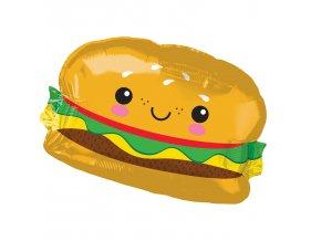 Fóliový balón Hamburger