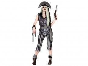 Duch pirátky (Veľkosti L)
