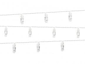 LED svietiace štipce na fotky