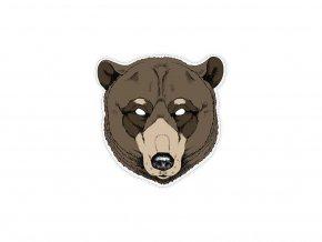 Maska medveď