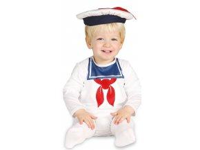 Kostým - námorník (Veľkosť 12 - 24 mesiacov)