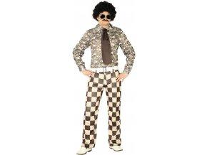 Pánsky kostým - Retro Brady (Veľkosť - Dospelí M)