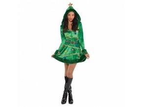 Dámsky kostým - Vianočný stromček (Veľkosť - Dospelí L)