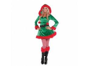 Dámsky kostým - Drzá Elfka (Veľkosť - Dospelí S)