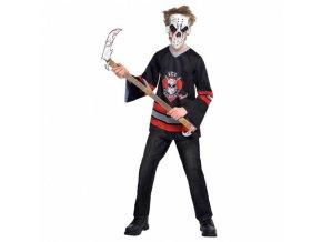 Detský kostým - Krvavý hokejista (Veľkosť - deti M)
