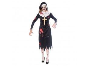 Dámsky kostým - Zombie mníška (Veľkosť - Dospelí L)