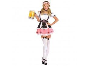 Dámsky kostým - Bavorskej slečny (Oktoberfest) (Veľkosť - Dospelí L)