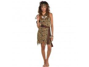 Dámsky kostým - Jaskynná žena (Veľkosť - Dospelí L)