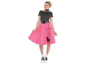 Dámsky kostým - Pin up dievča 50. roky (Veľkosť - Dospelí L)