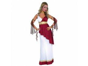 Dámsky kostým - Rímska bohyňa (Veľkosť - Dospelí L)