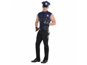 Pánsky kostým - Sexy policajt (Veľkosť - Dospelí L)