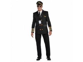 Pánsky kostým - Pilot (Veľkosť - Dospelí L)