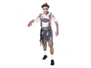 Pánsky kostým - Zombie Bavorský muž (Oktoberfest) (Veľkosť - Dospelí PLUS)