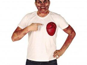 Tričko - Latexové srdce
