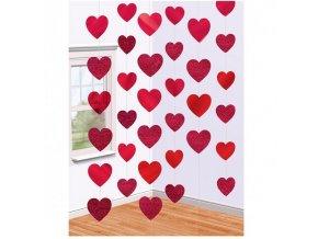 Visiaca dekorácia - srdce