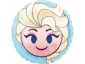 Fóliový balón - Emoticon Elsa