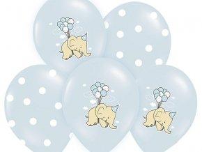 Lacny balon slon modry