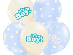 Balon chlapec modry