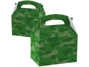 Papierový Párty Box - vojenský