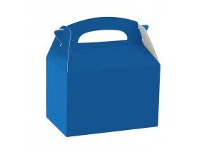 Papierový Párty Box - modrý