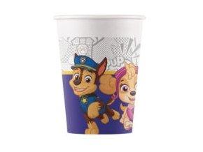 Kompostovateľné poháre - Tlapková hliadka 8 ks