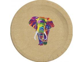 ELEPHANT COMPOSTABLE PLATE 23cm