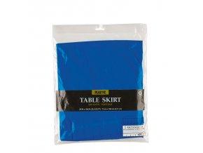 Banketová sukňa kráľovská modrá 426 x 73 cm